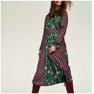 Boden | Cecilla Floral and Polka Dot Midi Dress